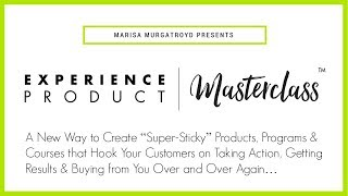 Experience Product Masterclass Review Tutorial – How To Create Super Sticky Products that Sells « IM Video Review